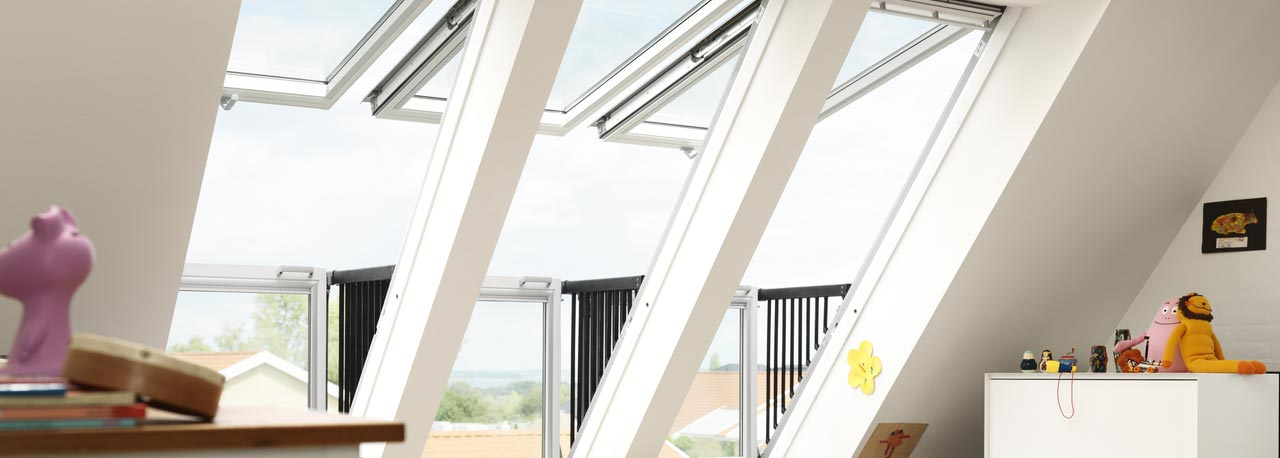 cabrio de velux la fen tre qui se transforme en balcon jardiner en ville. Black Bedroom Furniture Sets. Home Design Ideas